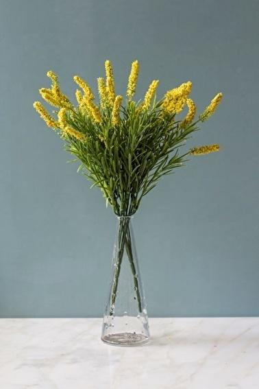 Arma House Cote d'Azur Sarı Yapay Lavanta ( Yapay Çiçek ) Sarı